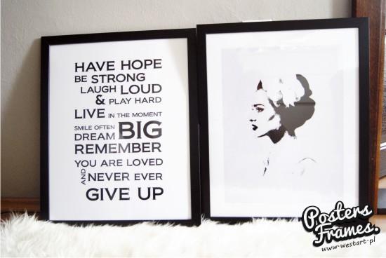Posters Frames Have Hope Plakaty W Ramach Plakaty